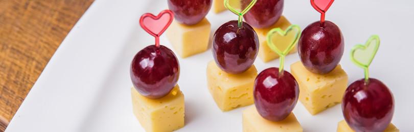 Рецепты закусок с виноградом