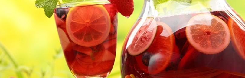 Испанская Сангрия – чем знаменит напиток, как его правильно употреблять