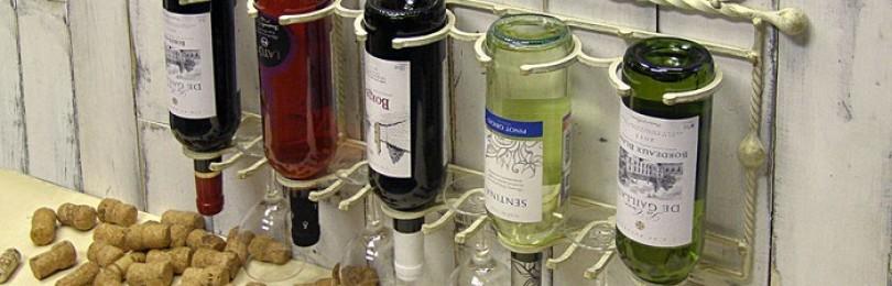 Держатель для бутылок – сувенир или обязательный винный аксессуар?