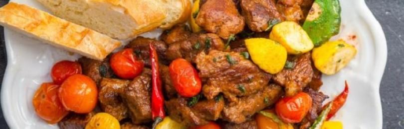 Мотив французской кухни – свинина в вине