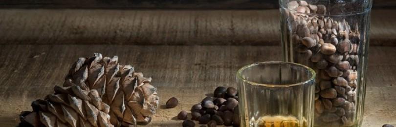 Водка на кедровых орешках в домашних условиях: как готовится и  как используется