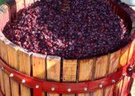 Вторичное вино из мезги