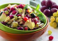 Многообразие рецептов салата с виноградом